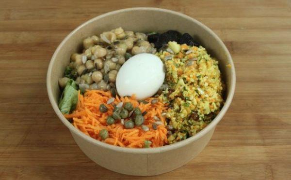 Photo de Salade repas façon buddha bowl par Label'Rousse