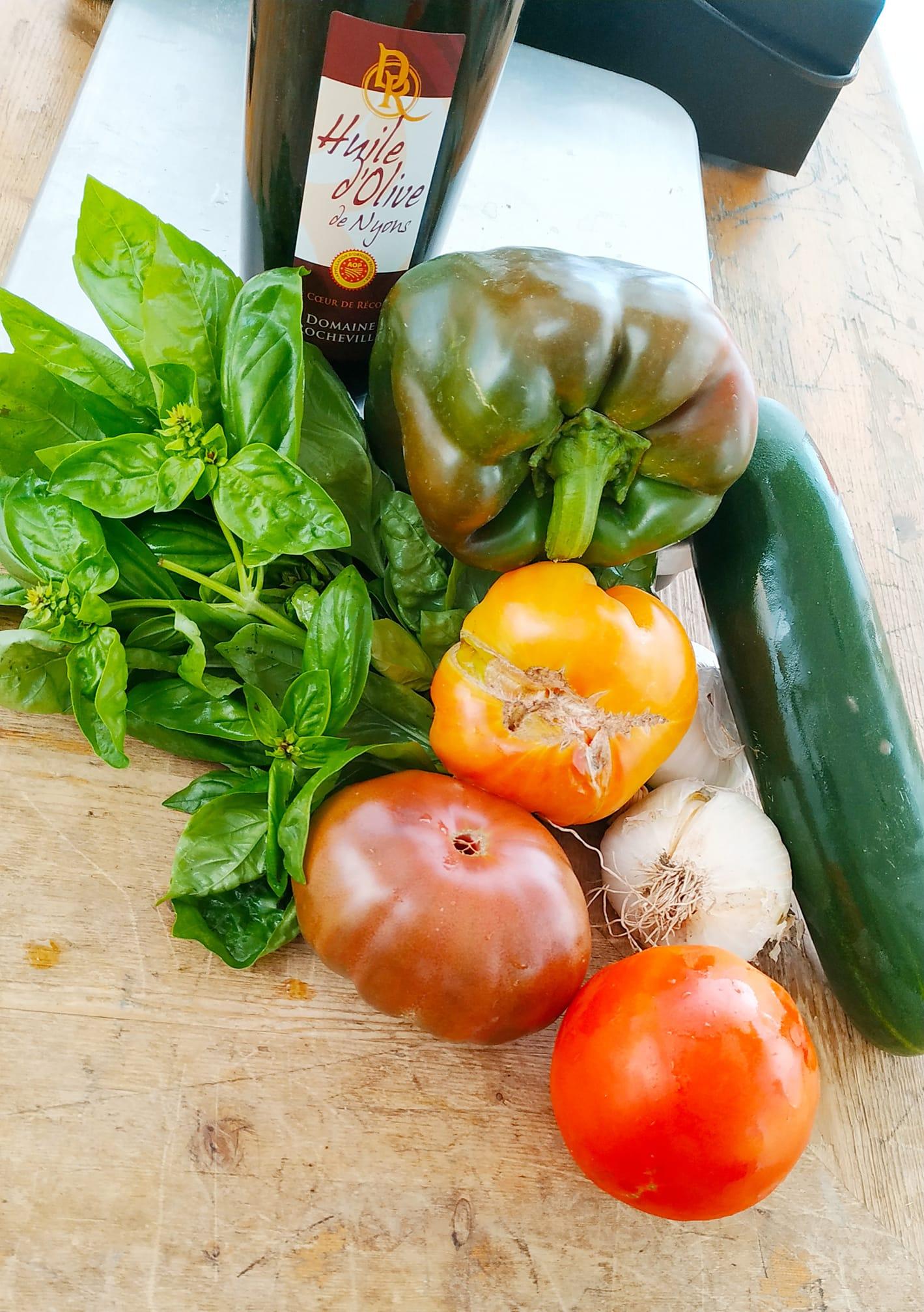 légumes de la combe