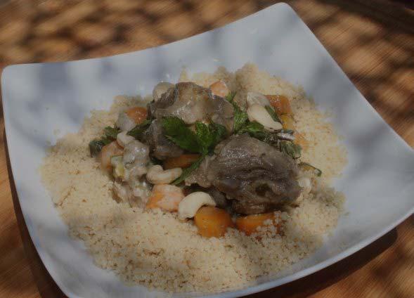 Sauté d'agneau à l'oriental label Rousse