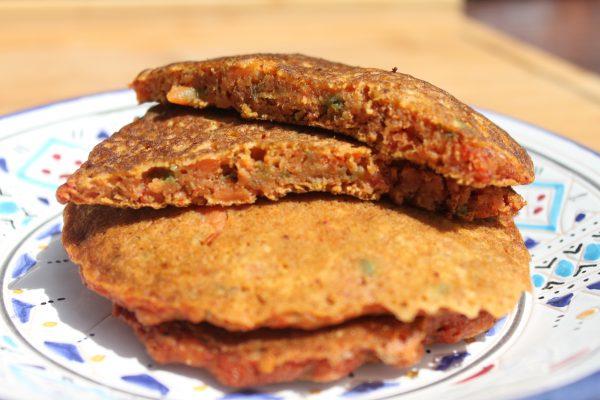 Pancake carottes curry Label Rousse