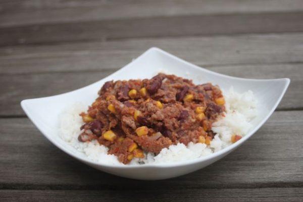 chili con carné label rousse