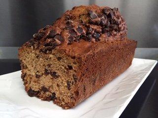 gâteau banane chocolat Label Rousse